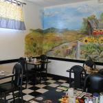 charming country cafe decor
