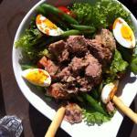 Very nice salade nicoise