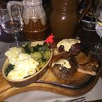 Steak, Duck and Chops