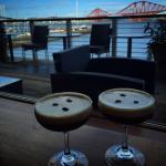 Delicious espresso martini after lunch