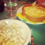Gnocchetti alla gorgonzola...e polenta alla concia.