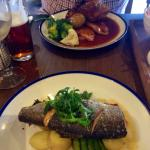 Marvellous Main Courses: Rainbow Trout & Roast Pork 10/10
