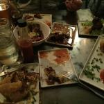 Small plates of delicious tapas!
