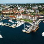 The Newport Harbor Hotel and Marina