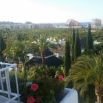 vista desde balcón.