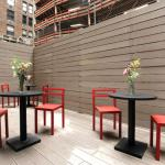 Outdoor Seating Deck