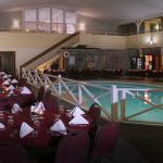 Poolside Meeting Area