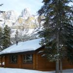 Castle Mountain Chalets Foto