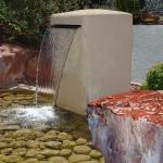 Front Entrance Water Feature
