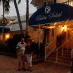 outside of bistro soleil