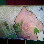 mapa en comedor