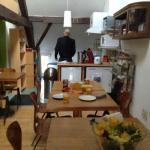 eetzaal en keuken