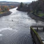 River Tummel from tthe dam