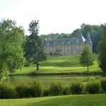 View of the chateau as you enter the property