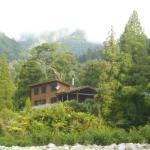 View of Lodge from Mokihinui River