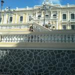 frente do Palácio do Governo próximo ao hotel