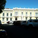 Lateral do Palácio do Governo próximo ao hotel