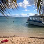 journée détente sur la plage de pointe sable