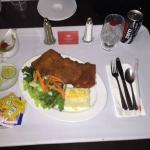 cena del hotel