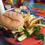 Now this is a 776 hamburger. Can you eat it all?
