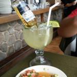 Food and margarita