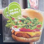7 Burger brochure and sign