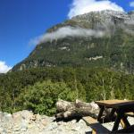 View from the deck of our Mtn chalet!