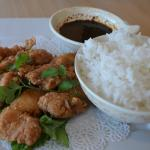 Chicken Karaage lunch special