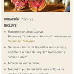 Jose Cuervo Express Foto