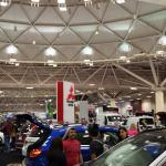 Auto and RV show at the convention center