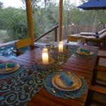 Rhino Cottage Dining Facilities