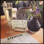 Lunch menu and interior