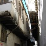 het oude stadsgedeelte van Damascus