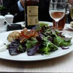 fresh and crispy salad