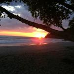 Sunset in Manuel Antonio!