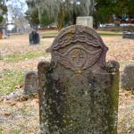 Tombstone in Cedar Grove Cemetary