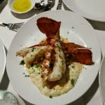 Lobster with the incredible risotto