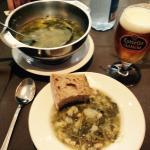 Dinner - Traditional Caldo soup