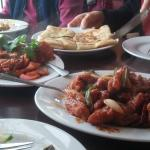 Sri Lanka fish and chicken