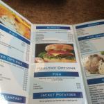 The menu, OAP deals too