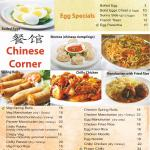 Egg items and Chinese