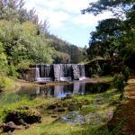 Dam/waterfall