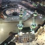 Vue magnifique sur la Kaaba.
