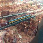 HO-scale deep canyon