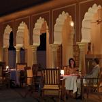 Rajmahal Outdoor Dinning