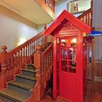 Historical Staircase And Phonebooth
