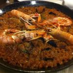 Paella. Very good