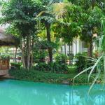 Angkor Century Resort And Spa Lagoon Pool Bar Fish