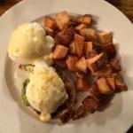 Eggs Benedict with Chorizo & Avocado