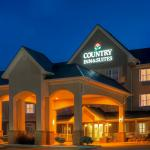 CountryInn&Suites Emporia ExteriorNight